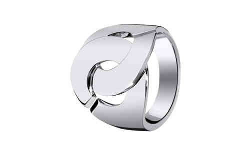 Menottes R16 18K White Gold Ring