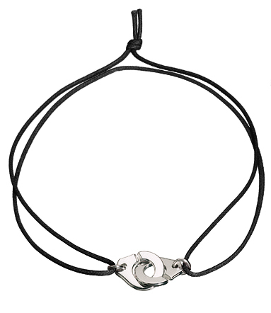 Menottes R20 Silver Necklace On Cord