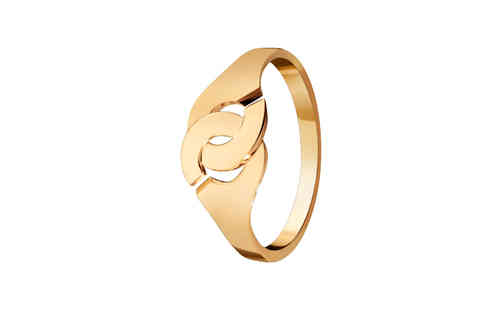 Menottes R8 Yellow Gold Ring