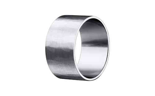 Chinese Pi 10mm Silver Ring