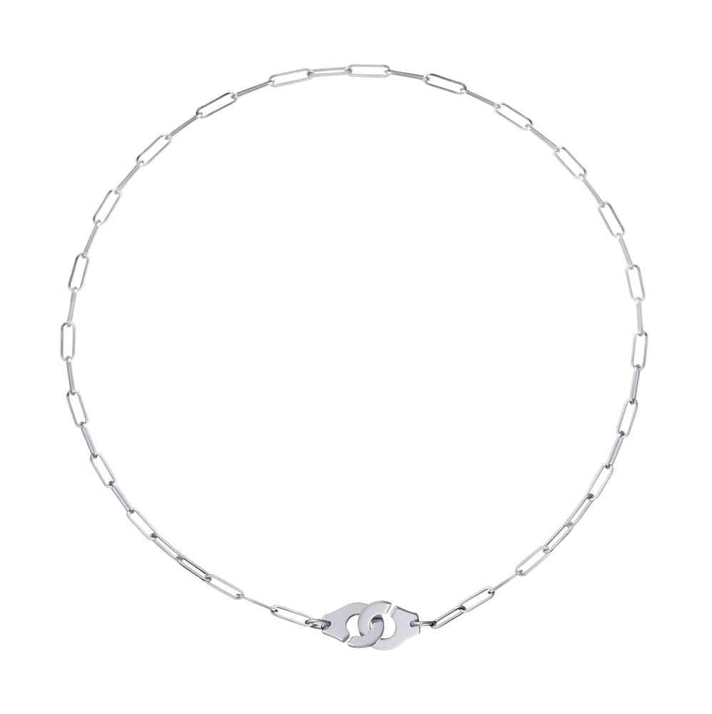 1d493448b9eb1 Menottes R10 18K White Gold Necklace
