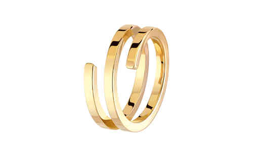 Spirale 18K Yellow Gold Ring