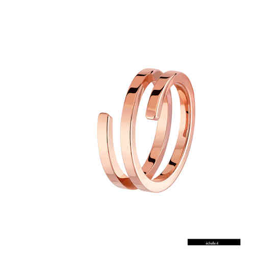 Spirale 18K Rose Gold Ring