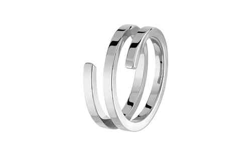Spirale 18K White Gold Ring