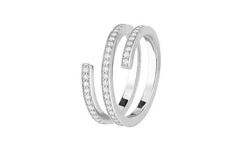 Spirale 18K White Gold With Diamond