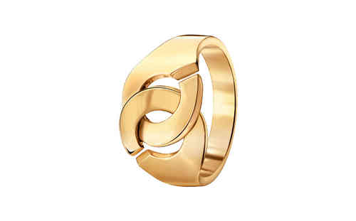 Menottes R12 Yellow Gold Ring